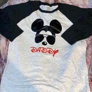 Disney daddy shirt
